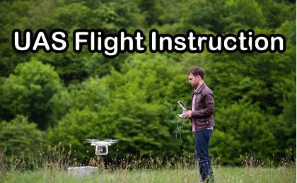Drone Flight Instruction training